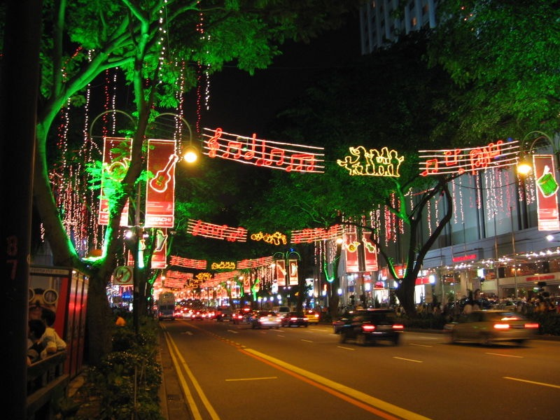 Orchard Road, downtown Singapore