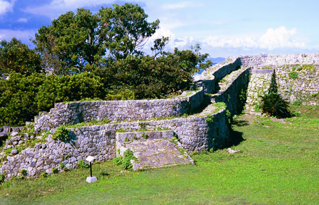 Ruins of Nakagusuku Castle, on Okinawa