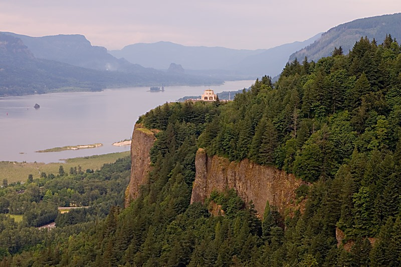 Vista House, in the Columbia Gorge,Oregon